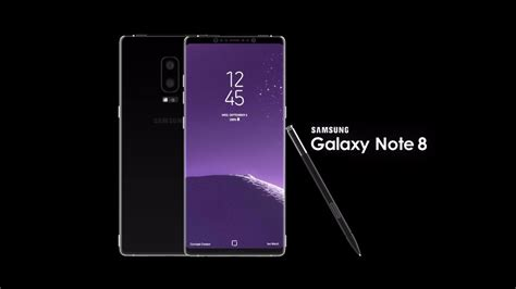 R Samsung Galaxy Note 8 Samsung Galaxy Note 8 Introduction Concept