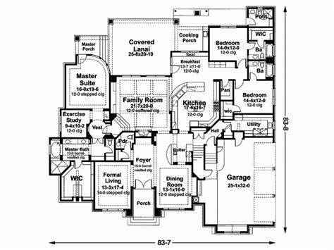 5 Bedroom House Plan by Eplans Mediterranean House Plan Five Bedroom 5407