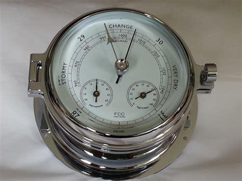 Thermometer Hygrometer chrome barometer thermometer hygrometer