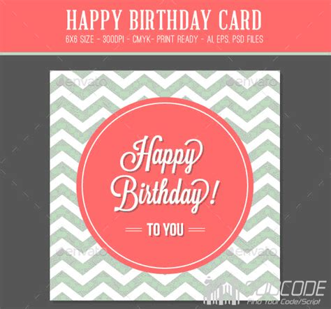20 beautiful birthday greeting and invitation cards psd