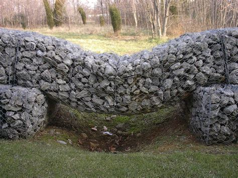 All About Gabions Cheap Retaining And Other Garden Cheap Garden Wall