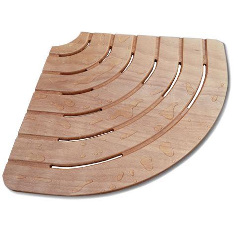 pedana doccia pedana doccia 61x61 angolare in legno marino per piatti 80