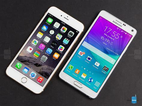 samsung galaxy note 4 vs samsung galaxy note 3 samsung galaxy note 4 vs apple iphone 6 plus