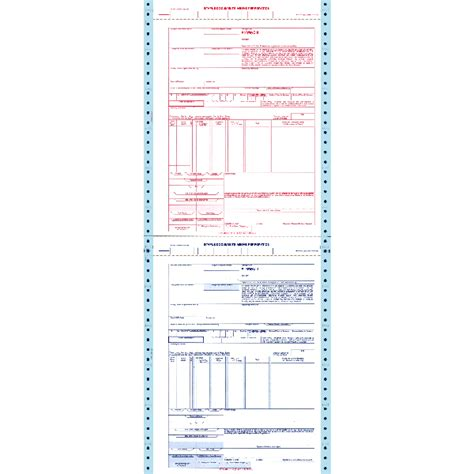 Continuous Form Jns 95 X 11 3ply Ncr Kertas Komputer freight forms