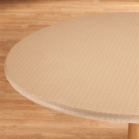 original elasticized vinyl table cover kimball