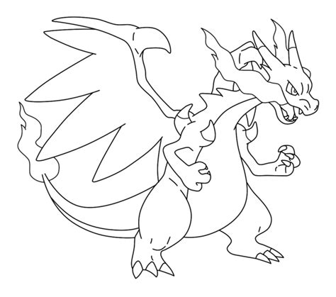 mega charizard drawing kids coloring europe travel