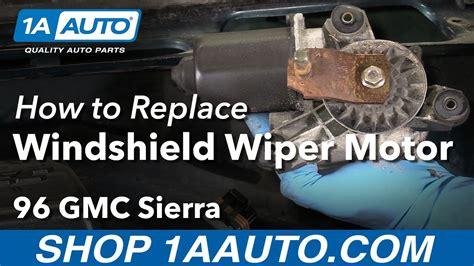 motor repair manual 1995 oldsmobile 98 windshield wipe control service manual how to change wipe motor of 2005 chevrolet