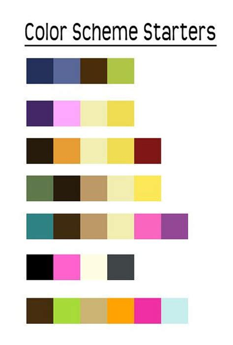 color scheme exles exles of great color schemes styles for my clients