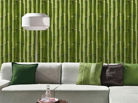 Tapisserie Bambou by Les Papiers Peints Trompe L œil Boostent Nos Murs