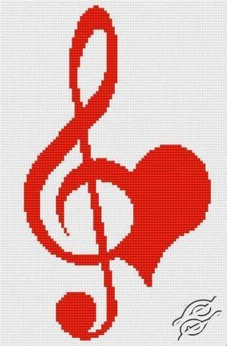 imagenes de notas musicales en forma de corazon coraz 243 n clave de sol en pinterest tatuaje de notas