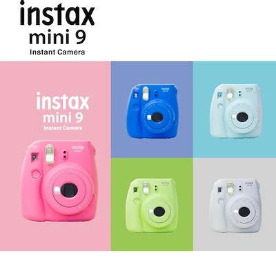qoo10 instax mini 9 : tv / camera / audio