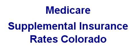 e supplemental insurance medicare supplemental insurance quotes colorado co
