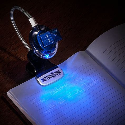 the light books doctor who tardis book light with uv pen craziest gadgets
