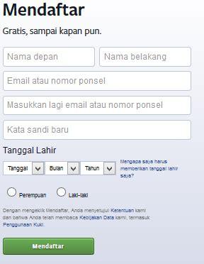 cara membuat nama korea menurut tanggal lahir cara mendaftar membuat akun facebook dengan android dan