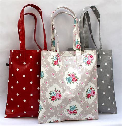 Retro Oilcloth Purse By All Pop by Oilcloth Vintage Inspired Book Bags By Lammie Co