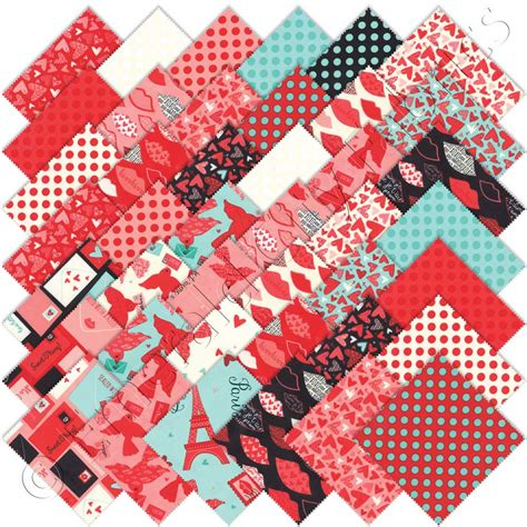 Quilting Fabric Charm Packs by Moda Charm Pack Emerald City Fabrics