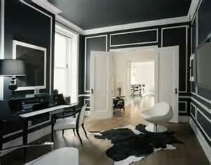 black wall designs black walls without gothic transformations