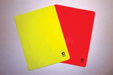 membuat kartu kuning baru asal usul kartu merah dan kuning harian medanbisnis