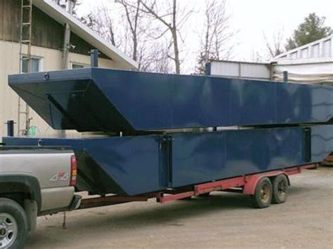 sectional kayaks for sale 2012 30 x 12 x 3 steel sectional barge sectional barge