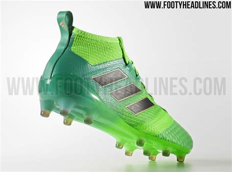 green adidas ace 2017 turbocharge boots footy headlines