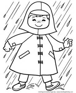 spring coloring pages kids spring showers coloring sheets spring season