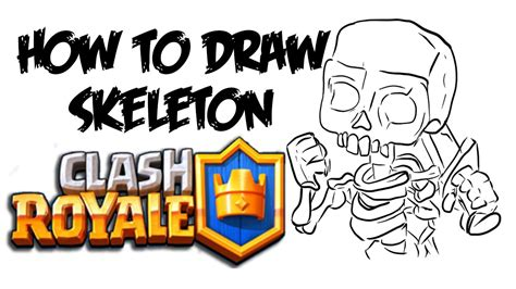 How To Search On Clash Royale How To Draw Skeleton Clash Royale