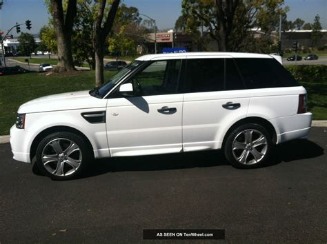 white range rover sport 2011 range rover sport gt limited edition 33k fuji white full