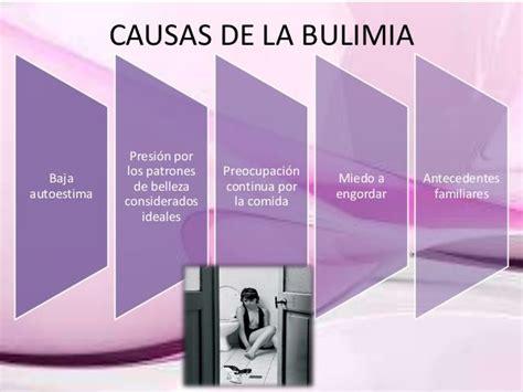 tipos de bulimia causas de la bulimia consecuencias de la causas de la bulimia trastorno de la bulimia