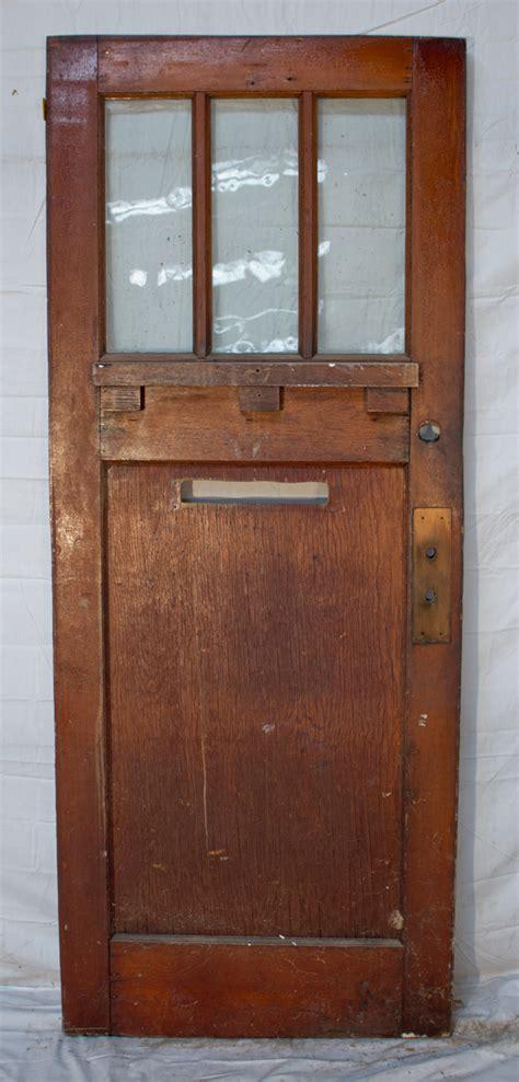 door 1 2 light panel divided light 1 panel door antique lumber company