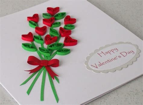 paper quilling craft ideas paper quilling card for s day creative and