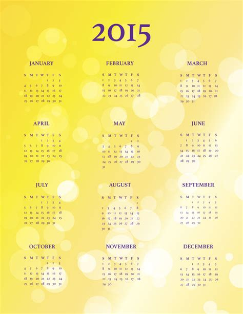Calendar Template Indesign 2015 9 Free 2015 Calendar Templates Creative Beacon