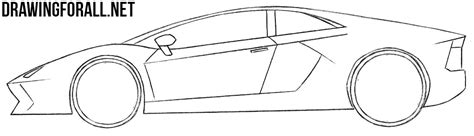 how to draw a jaguar car drawingforall net how easy to draw sports cars drawingforall net