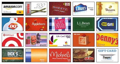 Scrip Gift Card List - northside elementary