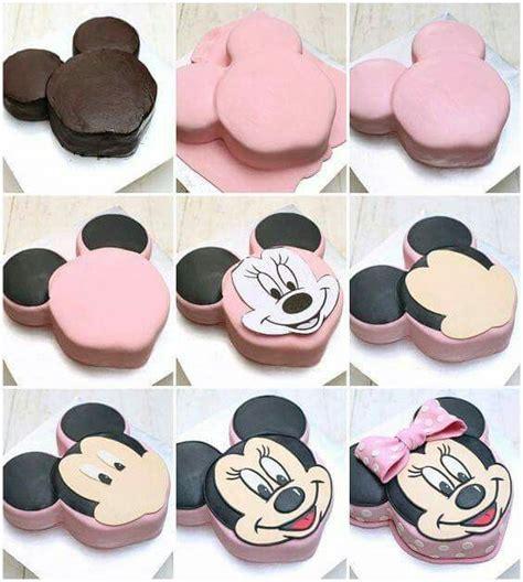 Keramik Bentuk Cupcake Besar Pink minnie mouse cake tutorial cake decorating fondant tutorials cake tutorial