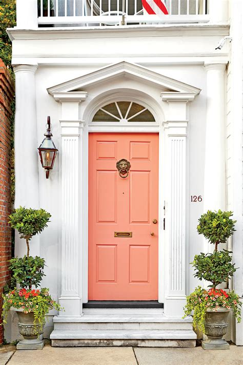 add instant home value remodel your front entryway 13 bold colors for your front door southern living