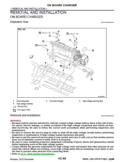 service manual car repair manuals online pdf 2012 nissan leaf transmission control nissan