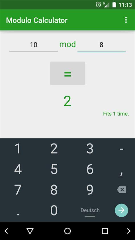 calculator modulo modulo calculator android apps on google play