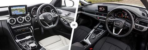 2013 audi a4 vs mercedes c300 mercedes c class vs audi a4 comparison carwow