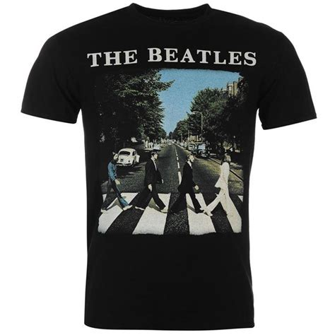 T Shirt The Beatles New official band merch the beatles t shirt mens t shirts