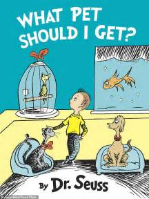 getting books new dr seuss books in july after widow discovered