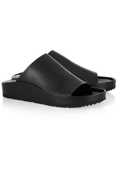 Balenciagaleather Slides balenciaga leather slides net a porter