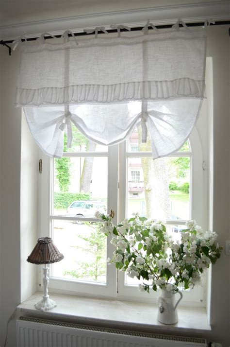 cottage curtains window treatments bedroom window treatment white grey black chippy