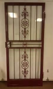 Metal Door Designs Doors Andersen 2000 Series White Fullview Etched