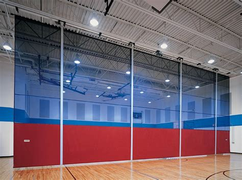 gym divider curtain exhibitor product preview specialty fabrics review