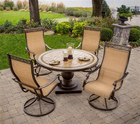 Hanover Monaco 5 Piece Patio Dining Set Review Best Best Patio Dining Set