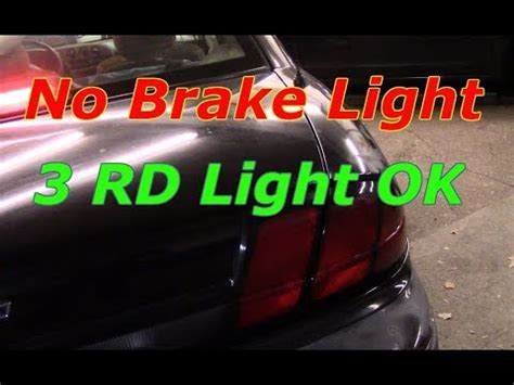 diagnose  repair  brake lights  brake light works youtube