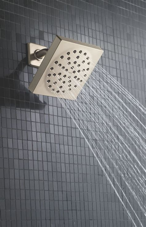 Moen 90 Degree Shower by Moen S6340 90 Degree 6 Quot Single Function Showerhead With Immersion Technology At 2 5 Gpm Flow