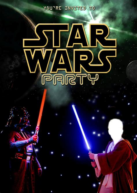 printable party invitations star wars free kids party invitations star wars party invitation