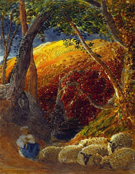 Glimmer Lights English Romantic Painting Samuel Palmer Wordsworth