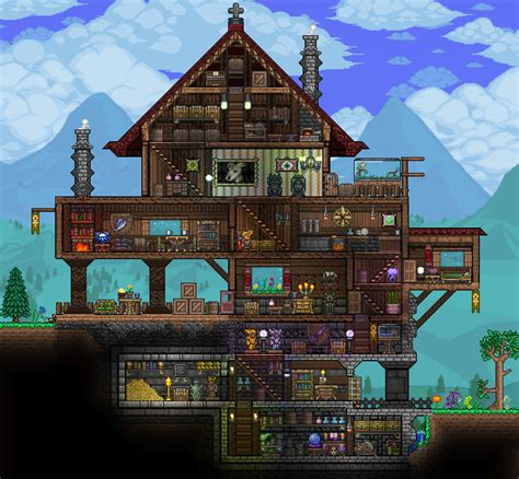 home design gold pc pc ballin houses by eiv terraria community forums